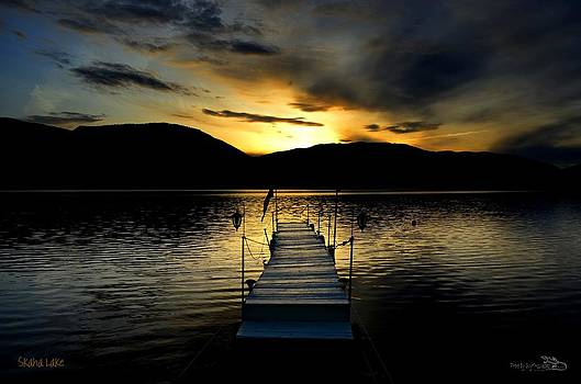 Guy Hoffman - Sunset Skaha Lake