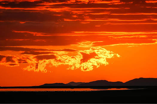 Sunset Sky Fire by Kirk Strickland