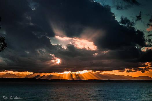 Sunset Skyburst by Eric Bean
