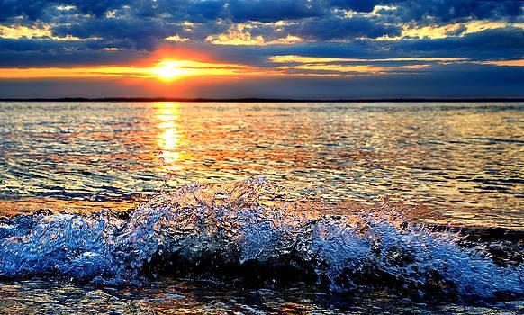 Sunset Splash by Dale Hall