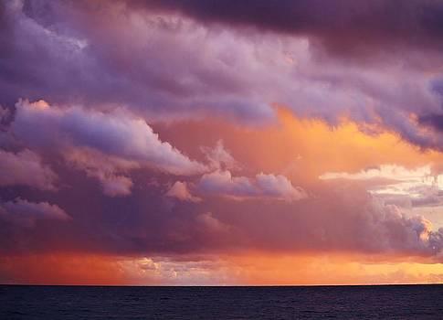 Sunset Storm by Al Fritz