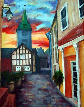 Sunset Street by Maryn Crawford