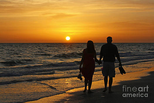 Sunset Stroll by Bob McGill