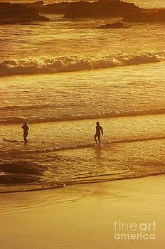 Sunset Surfers by Blair Stuart