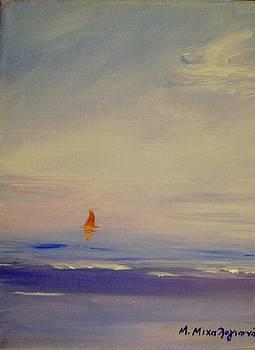 Sunset travel by Manolia Michalogiannaki