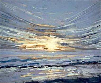 Sunset by Valentine Estabrook