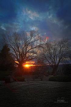 Sunset Vignette  by Dan Quam