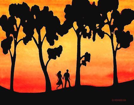 Sunset Walk by Sophia Schmierer