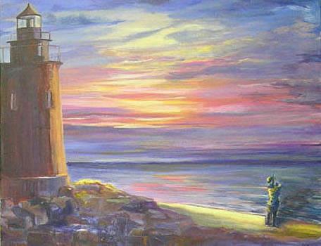 Sunset Watch by Karen Apostolico