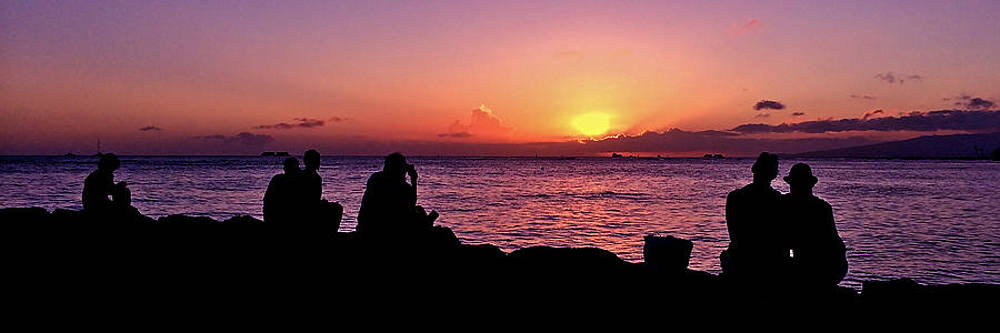 Sunset Watchers #2 by Richard Hinds