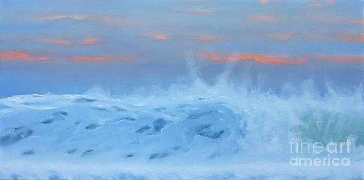 Sunset Wave by John Ellis