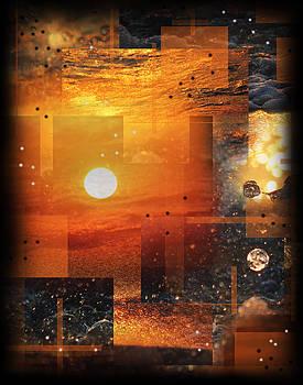Sunset Waves Lake MI by Andrew Sliwinski