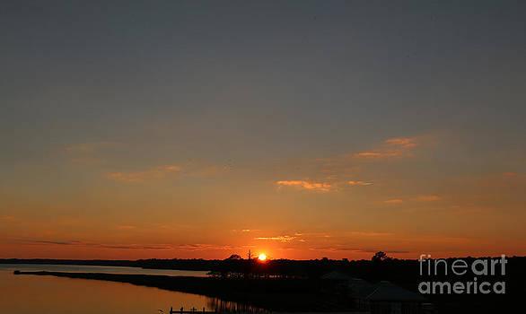 Sunset Weeks Bay by Light Rapture