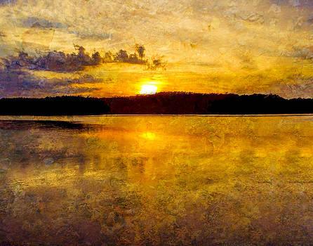 Terry Shoemaker - Sunset with overlay