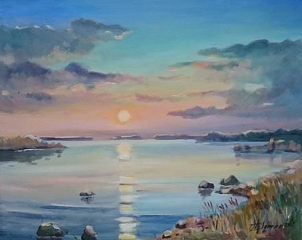 Sunset by Ylo Telgmaa