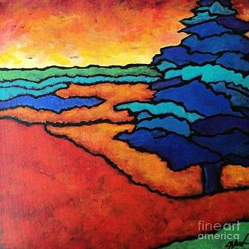 Sunsets are Free by Charleen Martin