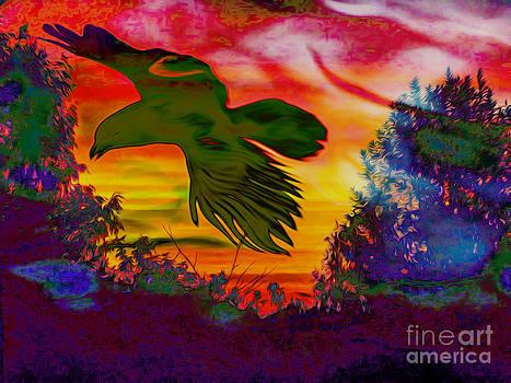 Algirdas Lukas - Sunsets Bird
