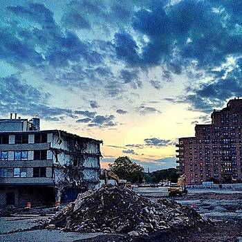 #sunsets Over Destruction #igers_philly by Dan  Diamond