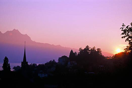 Matt Swinden - Sunsetting over Lake Lucerne