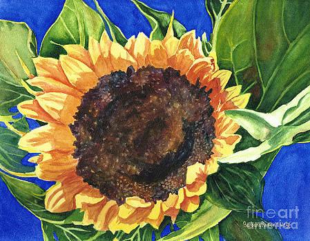 Sunshine Sunflower by Barbara Rosenzweig
