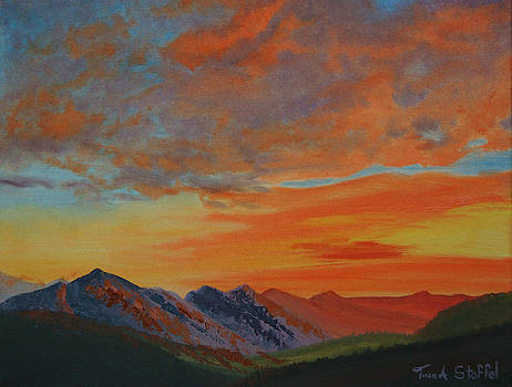 Sunswept Mountains by Tina Stoffel
