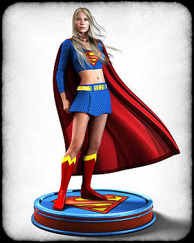 Super Girl v1 by Frederico Borges