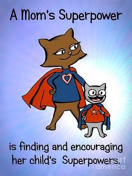 Super Mom and Son by Pet Serrano