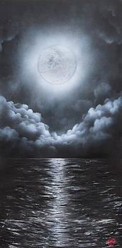 Super Moon by Tyrone Webb