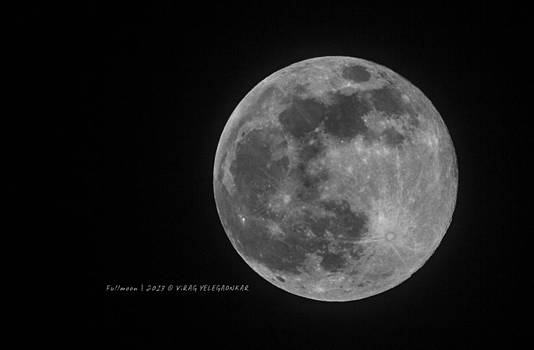 Super Moon by Virag Yelegaonkar