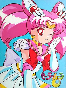 Super Sailor Mini Moon by Jin Kai