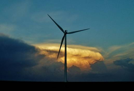 Supercell Windmill by Ed Sweeney