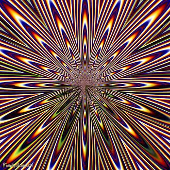 Supernova. 2013  80/80 cm.  by Tautvydas Davainis