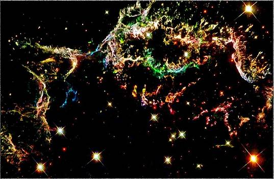Supernova Remnant Cassiopeia A by Amanda Struz