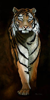 SUPREMACY-Siberian Tiger by Patricia Mansell