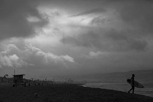 Surf and Rain  by Mark DeJohn