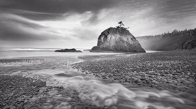 Nathan Mccreery - Surf and Stream  Cape Meares  Oregon