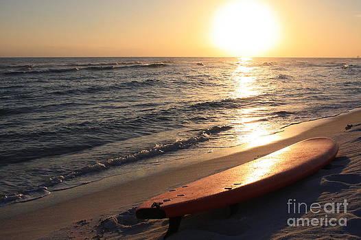 Surf Sunset by Danielle Groenen