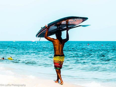 Surf the gulf  by Kim Loftis