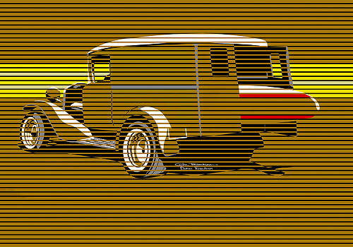 Surf Truck Golden Sand by MOTORVATE STUDIO Colin Tresadern