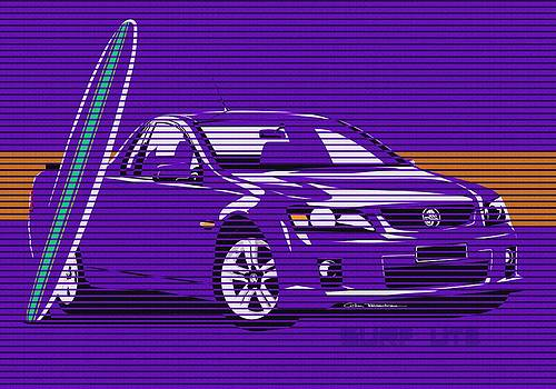 Surf Ute Purple Haze by MOTORVATE STUDIO Colin Tresadern