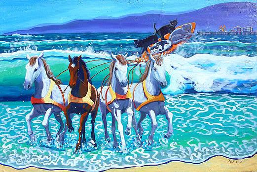 Surfboard Chariot by Sean Boyce