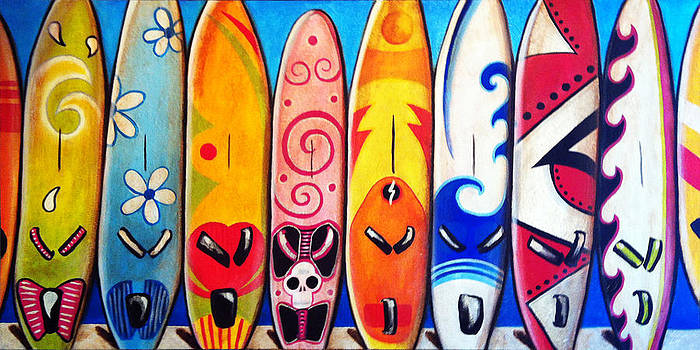 Surfboards by Jill English