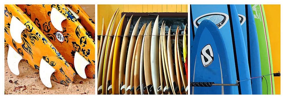 Art Block Collections - Surfboards Triptych