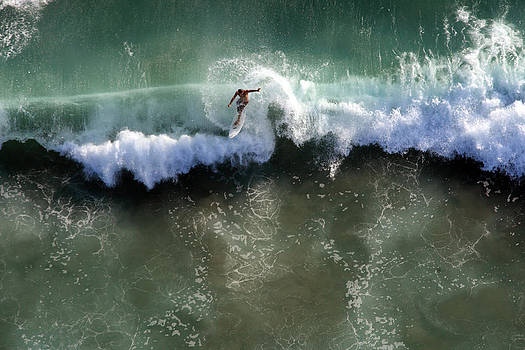 Surfer From the Sky by John Ferrante