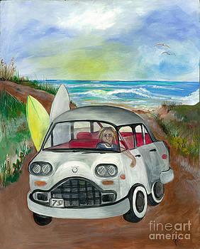 SurferGirl by Jacalyn Hassler Yurchuck