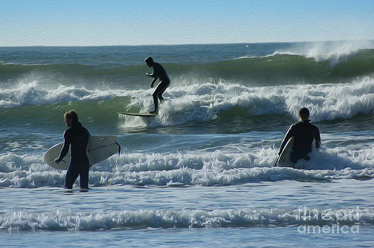 Surfers by Nur Roy