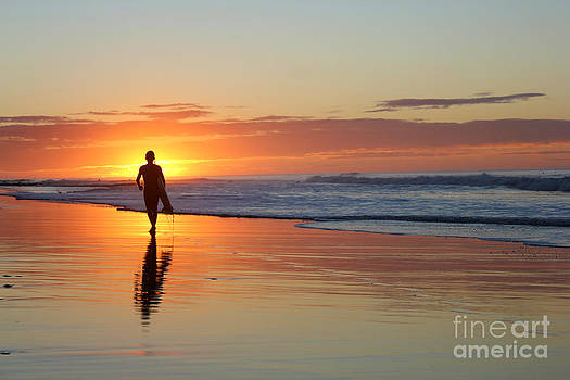 Surfers Sunrise by Stav Stavit Zagron