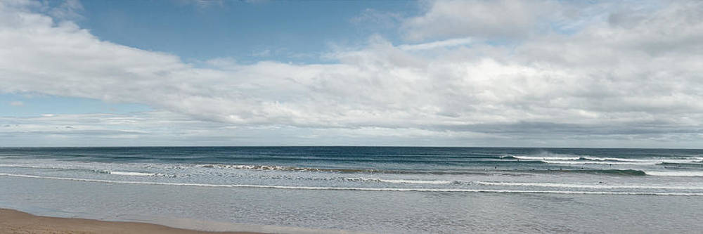 Surfing beach panorama by View Factor Images