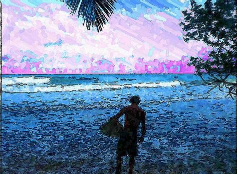Surfing by Kevin Schank