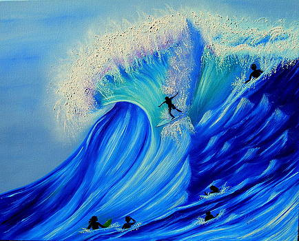 Kathern Welsh - Surfing Party